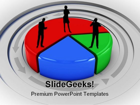 Pie Chart Business PowerPoint Themes And PowerPoint Slides 0811
