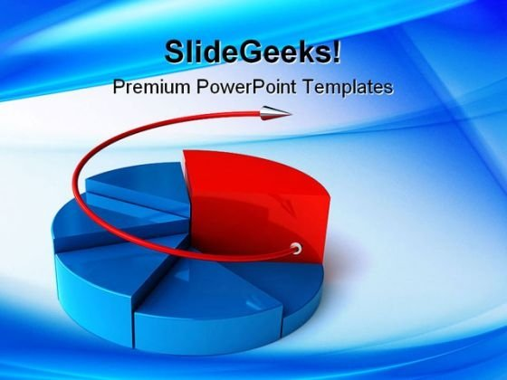 Pie Chart Concept Business PowerPoint Templates And PowerPoint Backgrounds 0311