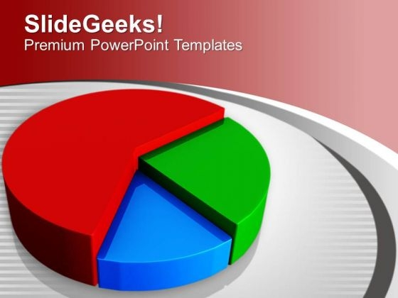 Pie Chart Marketing Development PowerPoint Templates Ppt Backgrounds For Slides 0313