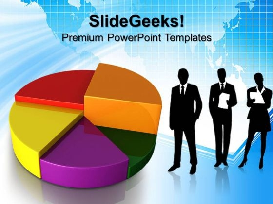 Pie Chart Money Business PowerPoint Templates And PowerPoint Themes 0612