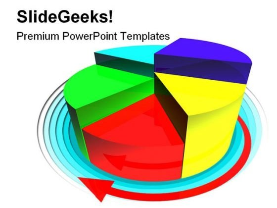 Pie Diagram Business PowerPoint Themes And PowerPoint Slides 0411