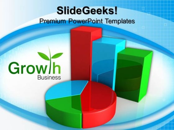 Pie Growth Business PowerPoint Templates And PowerPoint Themes 0612