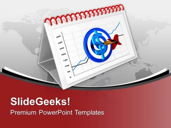 Plan Your Monthly Target In Business PowerPoint Templates Ppt Backgrounds For Slides 0413