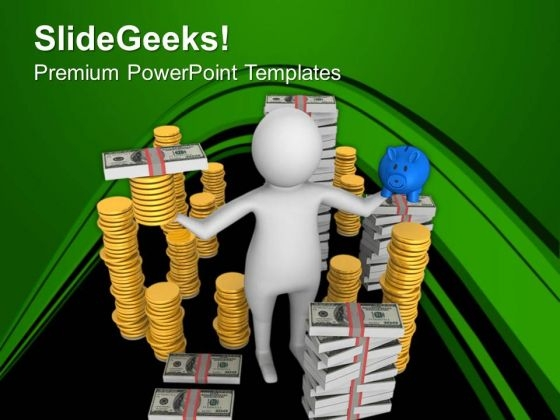 Planning To Save The Money For Business Purpose PowerPoint Templates Ppt Backgrounds For Slides 0713