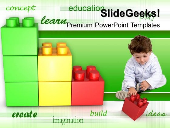 Play And Learn Concept Children PowerPoint Templates And PowerPoint Themes 0512