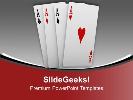 Playing Cards Sports Theme PowerPoint Templates Ppt Backgrounds For Slides 0413