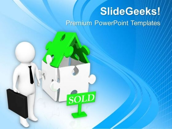 prepare your house for sale real estate powerpoint templates ppt