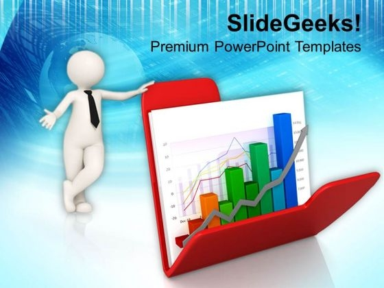 Presentation On Business Sales And Growth Chart PowerPoint Templates Ppt Backgrounds For Slides 0813