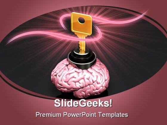 Private Knowledge Security PowerPoint Template 1110