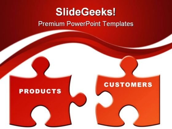 Products And Customers Business PowerPoint Themes And PowerPoint Slides 0811