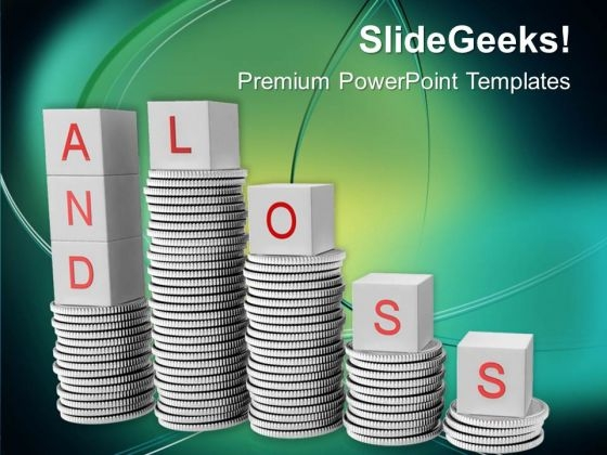 Profit And Loss Business Concept PowerPoint Templates Ppt Backgrounds For Slides 0213