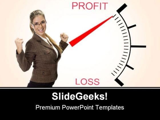 Profit Business PowerPoint Template 0910