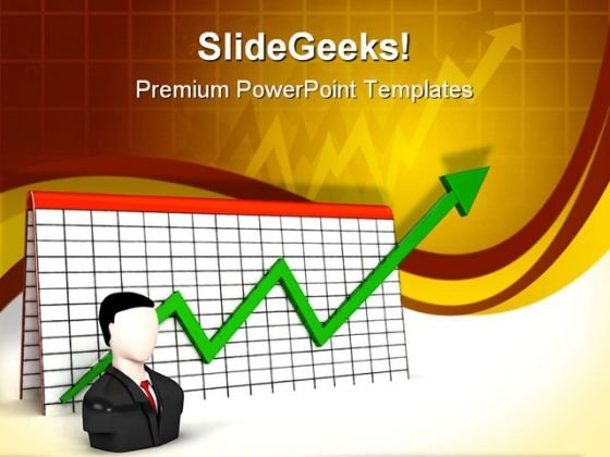Profit Graph Business PowerPoint Templates And PowerPoint Backgrounds 0811