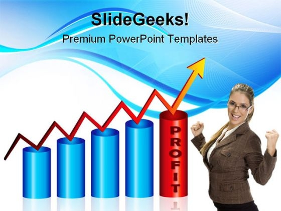 Profit Graph Business PowerPoint Templates And PowerPoint Backgrounds 1211