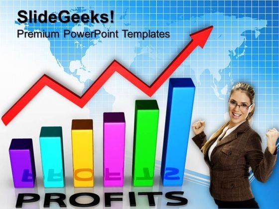 Profit Graph Finance PowerPoint Templates And PowerPoint Themes 0612