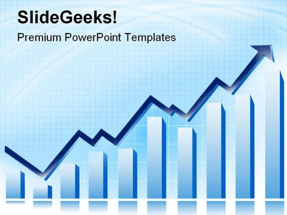 Profit Graph Success PowerPoint Themes And PowerPoint Slides 0711