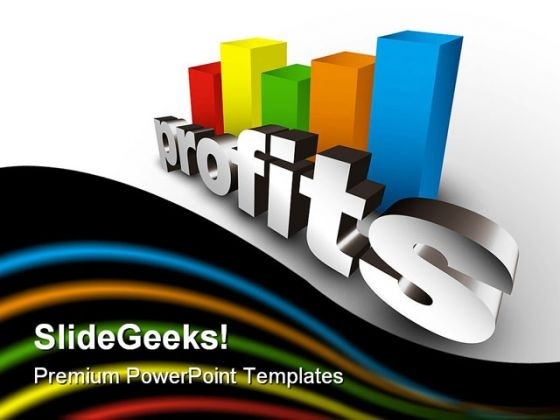 Profits Business PowerPoint Template 0910