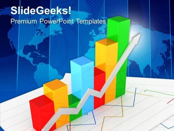 Progress Bar Graph With Factors PowerPoint Templates Ppt Backgrounds For Slides 0413