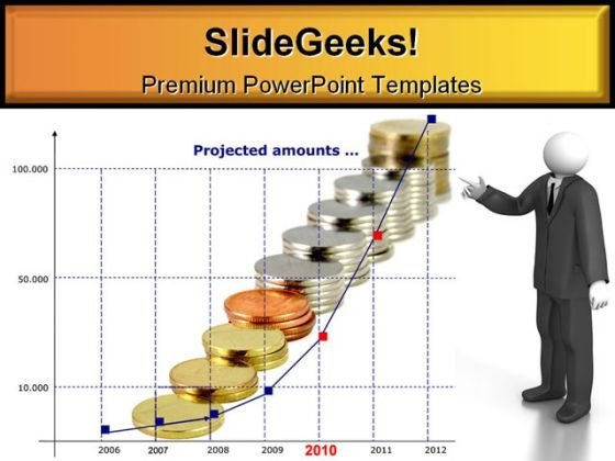 Project Amounts Business PowerPoint Template 0610