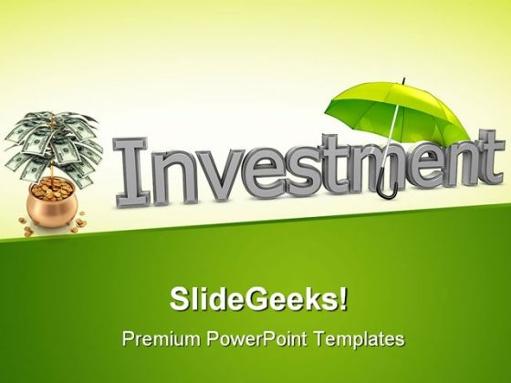 Protect Investment Business PowerPoint Backgrounds And Templates 1210