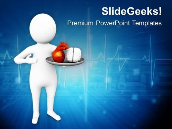 Protect Your Brain And Heart PowerPoint Templates Ppt Backgrounds For Slides 0813
