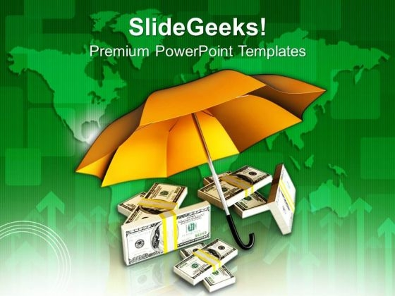 Protecting Money Global Business Issues PowerPoint Templates Ppt Backgrounds For Slides 0213