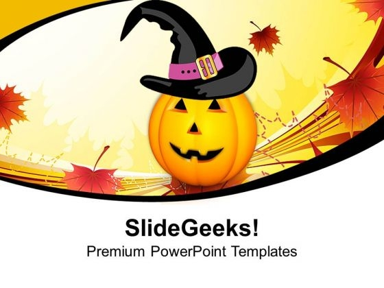 Pumpkins Evil Festival Halloween PowerPoint Templates And PowerPoint Themes 1012
