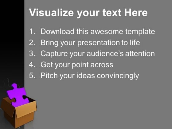Purple solution puzzle business powerpoint templates and powerpoint purplesolutionpuzzlebusinesspowerpointtemplatesandpowerpointthemes1112text toneelgroepblik Gallery
