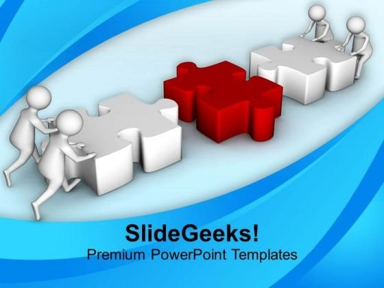 Put Right Solution For Business PowerPoint Templates Ppt Backgrounds For Slides 0813
