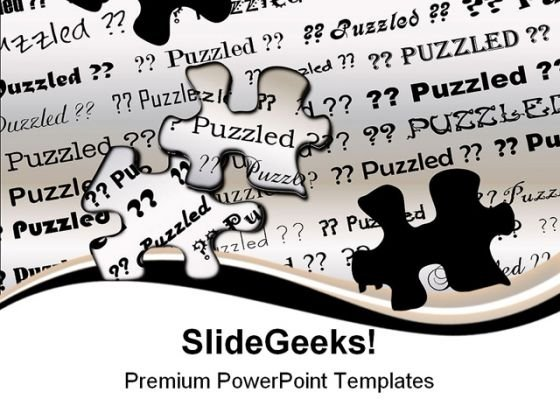 Puzzle Background PowerPoint Templates And PowerPoint Backgrounds 0911