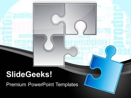 Puzzle Last Piece Success PowerPoint Templates And PowerPoint Themes 0512