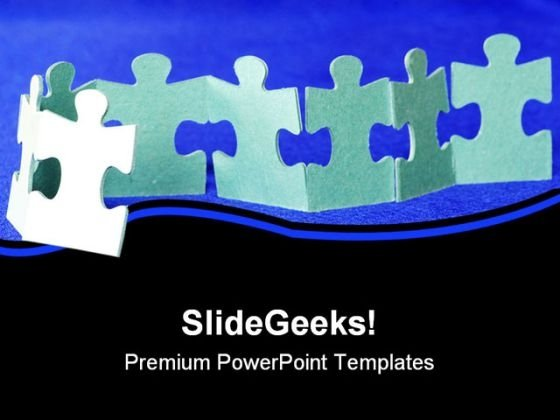 Puzzle Leadership PowerPoint Themes And PowerPoint Slides 0711