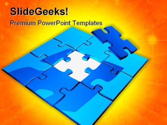 Puzzle Shapes PowerPoint Templates And PowerPoint Backgrounds 0711