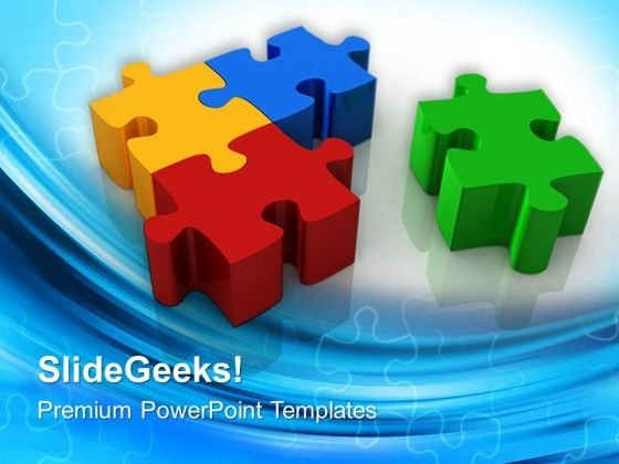 Puzzle Solution Business PowerPoint Templates And PowerPoint Themes 0712