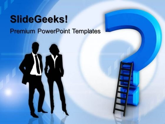 Question Mark Business PowerPoint Templates And PowerPoint Themes 1012