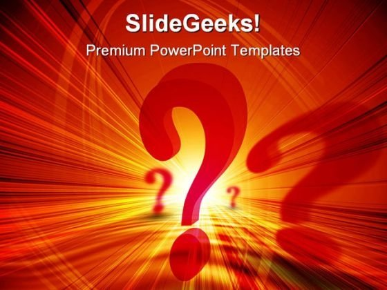 Question Marks Business PowerPoint Themes And PowerPoint Slides 0511
