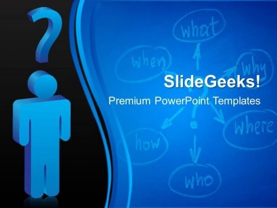 Questions Business PowerPoint Templates And PowerPoint Themes 0412
