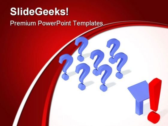 Questions Symbol PowerPoint Templates And PowerPoint Backgrounds 0611