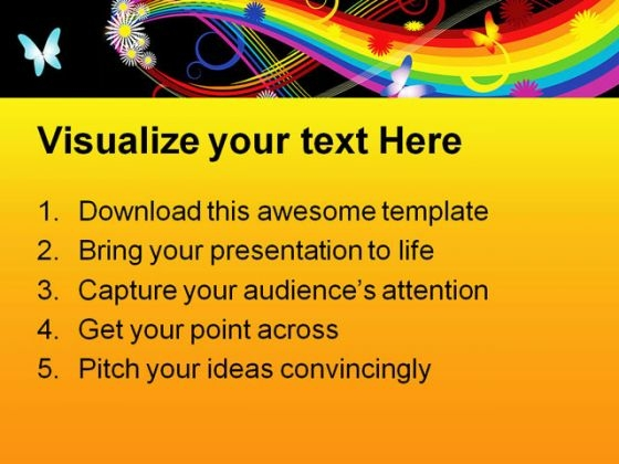 rainbow_with_flowers_abstract_powerpoint_backgrounds_and_templates_1210_text