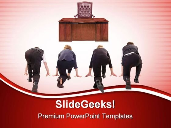 Rat Race Competition PowerPoint Templates And PowerPoint Backgrounds 0711