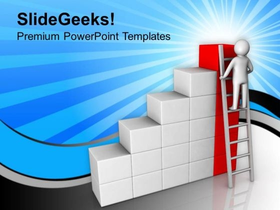 Reach The Target Business Achievements PowerPoint Templates Ppt Backgrounds For Slides 0613
