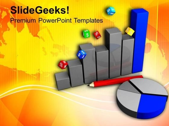 Read The Pie And Bar Chart PowerPoint Templates Ppt Backgrounds For Slides 0713