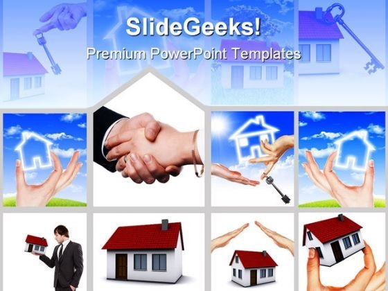 Real Estate Business PowerPoint Themes And PowerPoint Slides 0411