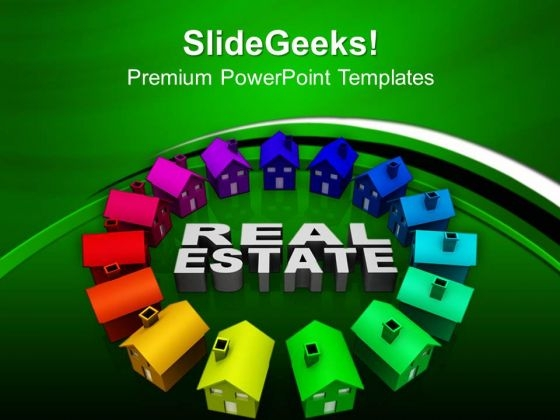 Real Estate Concept Business PowerPoint Templates And PowerPoint Themes 0812