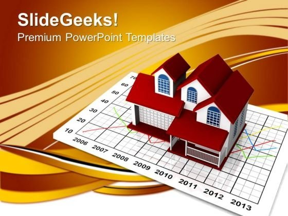 Real Estate Marketing Concept PowerPoint Templates And PowerPoint Themes 0812