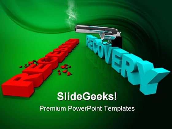 Recession And Recovery Shootout Business PowerPoint Templates And PowerPoint Backgrounds 0511