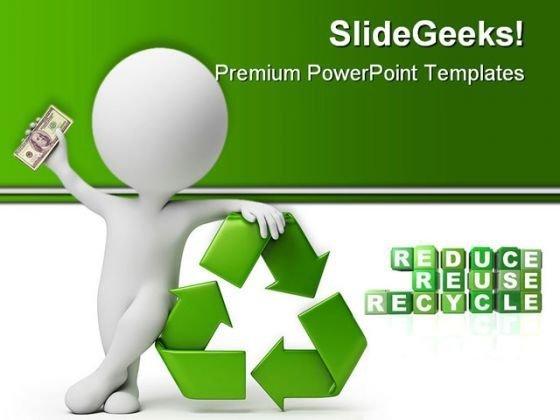 Recycle Environment PowerPoint Templates And PowerPoint Backgrounds 0411