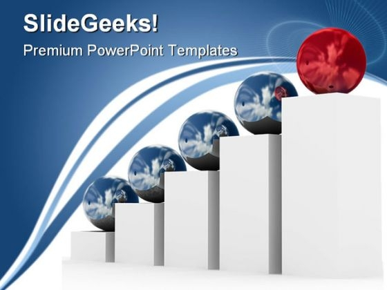 Red Leader Leadership PowerPoint Templates And PowerPoint Backgrounds 0611