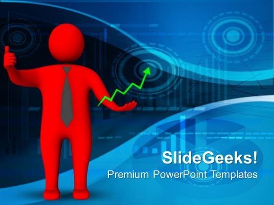 Red Man Business PowerPoint Templates And PowerPoint Themes 1012