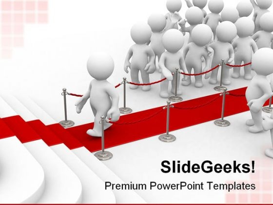 Red Path Leadership PowerPoint Templates And PowerPoint Backgrounds 0211